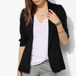 Silence + Noise fitted black blazer